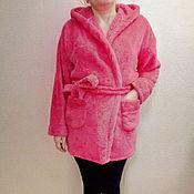 Одежда ручной работы. Ярмарка Мастеров - ручная работа Женский теплый халат-куртка. Handmade.