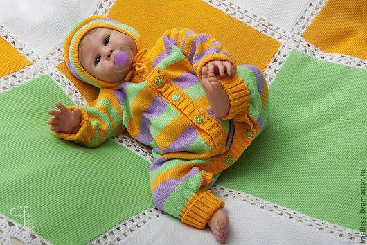 Одежда ручной работы. Ярмарка Мастеров - ручная работа. Купить Детский комбинезон для новорожденных Веснушки. Handmade. Детский комбинезон