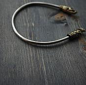 Украшения handmade. Livemaster - original item Bracelet Viking silver bracelet 925. Handmade.