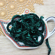 Материалы для творчества handmade. Livemaster - original item Accessories for embroidery: Chenille 5 mm polyester Magic forest 1 meter. Handmade.