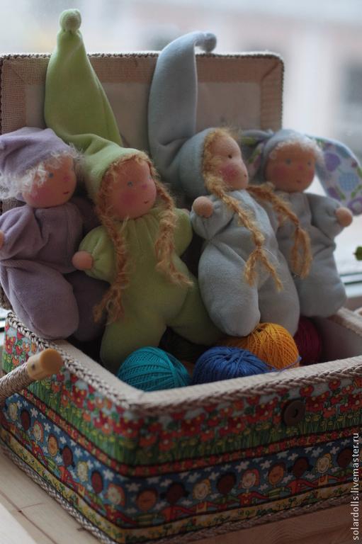 Вальдорфские куклы гномики пампушата 17- 15 см .Julia Solarrain (SolarDolls) Ярмарка Мастеров