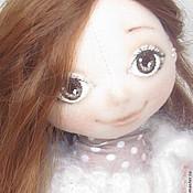 Куклы и игрушки ручной работы. Ярмарка Мастеров - ручная работа Кукла ДАНА с собачкой. Handmade.