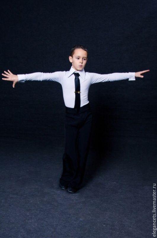Детские танцевальные костюмы ручной работы. Ярмарка Мастеров - ручная работа. Купить Мальчиковые комбидресс и брюки для бальных танцев. Handmade.