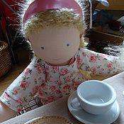 Куклы и игрушки ручной работы. Ярмарка Мастеров - ручная работа Текстильные куколки-сестрёнки. Handmade.