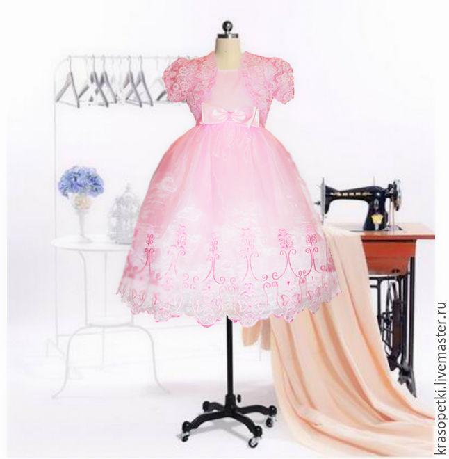 Розовое платье с болеро, Платье, Москва,  Фото №1