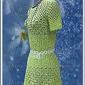 """Одежда ручной работы. Ярмарка Мастеров - ручная работа Платье """" Сочный лайм"""". Handmade."""