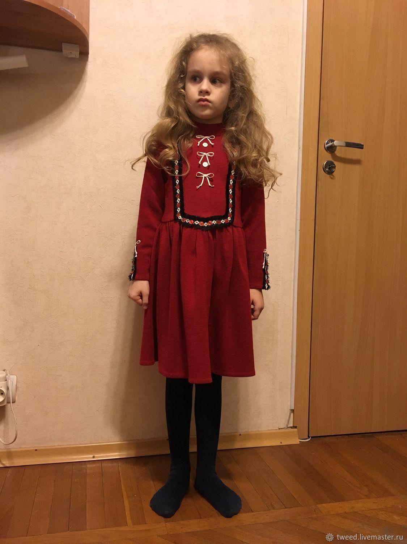 Платье Джерси для девочки