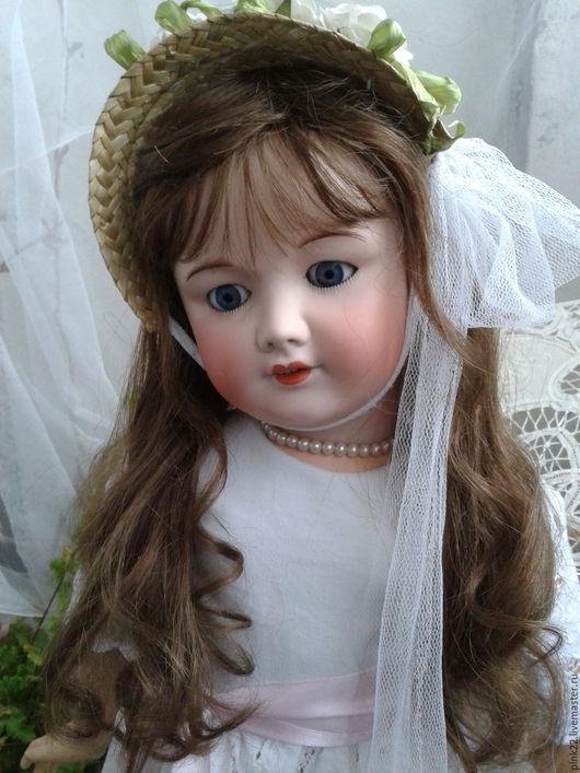 Коллекционные куклы ручной работы. Ярмарка Мастеров - ручная работа. Купить Антикварная кукла Жюмо.Франция.. Handmade. Кукла, комбинированный