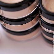 """Косметика ручной работы. Ярмарка Мастеров - ручная работа """"Солнечное прикосновение""""-легкая минеральная пудра-вуаль с мерцанием. Handmade."""