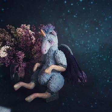 Dolls & toys handmade. Livemaster - original item Unicorn Emerald. Handmade.