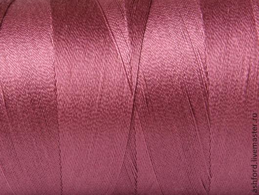 Другие виды рукоделия ручной работы. Ярмарка Мастеров - ручная работа. Купить Нитки для ткачества Хлопковые-пыльная роза.. Handmade.