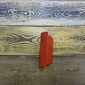 Материалы для творчества ручной работы. Ярмарка Мастеров - ручная работа Шпатель для создания фактуры дерева - 10 см.. Handmade.