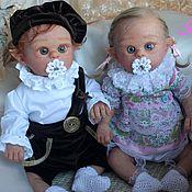 Куклы и игрушки ручной работы. Ярмарка Мастеров - ручная работа Эльфики Фенечка и Филипок. Handmade.