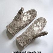 Аксессуары handmade. Livemaster - original item Mitten
