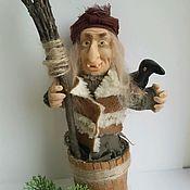Куклы и игрушки ручной работы. Ярмарка Мастеров - ручная работа Баба-яга!Чуфырь-Чуфырь. Handmade.