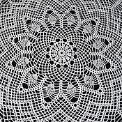 Для дома и интерьера handmade. Livemaster - original item 102/SOUFFLE tablecloth medium. Handmade.