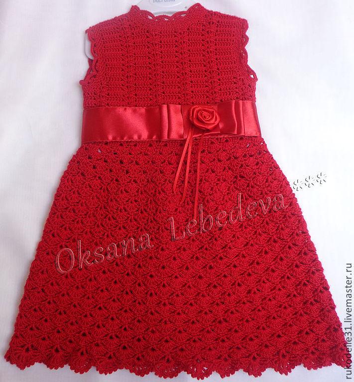 Платье своими руками девочки крючок фото 134