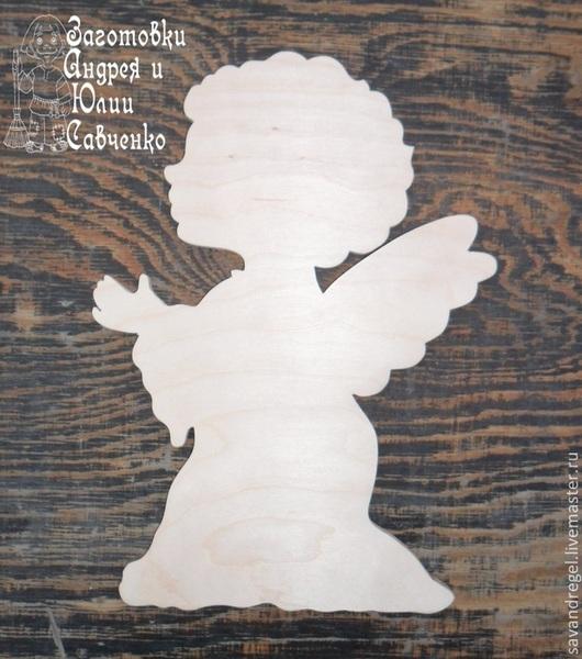 Декупаж и роспись ручной работы. Ярмарка Мастеров - ручная работа. Купить Заготовка Ангел № 6. Handmade. Ангел