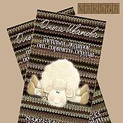 Визитки ручной работы. Ярмарка Мастеров - ручная работа Макет визитки мастера по вязанию. Handmade.