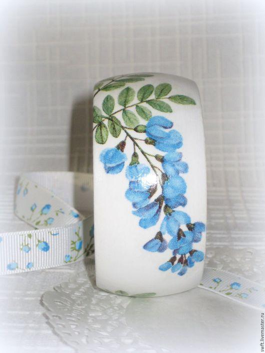 белый голубой бирюзовый романтичный стильный женский недорогой деревянный браслет недорого красиво подарок что подарить девушке женщине сестре подруге маме на 8 марта день рождения