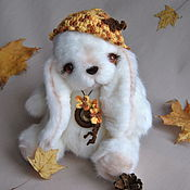 Teddy Toys handmade. Livemaster - original item Teddy Bunny Autumn. Handmade.
