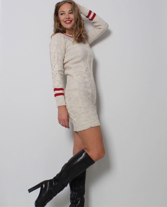 02340f0ef12 Платья ручной работы. Ярмарка Мастеров - ручная работа. Купить Вязаное  платье - туника.