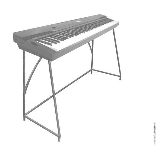 Мебель ручной работы. Ярмарка Мастеров - ручная работа. Купить Стол, подстолье, тумба под электрич. пианино, вязальную машинку. Handmade.