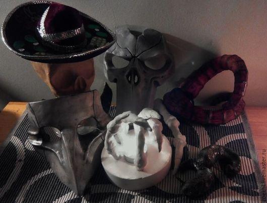 Подарочные наборы ручной работы. Ярмарка Мастеров - ручная работа. Купить маска, рога, череп. Handmade. Серый, маски, череп