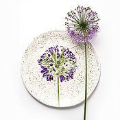 """Посуда ручной работы. Ярмарка Мастеров - ручная работа Тарелка """"Одуван"""". Handmade."""