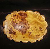 Посуда ручной работы. Ярмарка Мастеров - ручная работа Ваза из капа (клена). Для фруктов. Handmade.