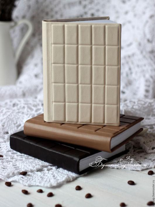 """Блокноты ручной работы. Ярмарка Мастеров - ручная работа. Купить Блокноты """"3 шоколада"""". Handmade. Коричневый, записная книжка"""