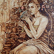 """Картины и панно ручной работы. Ярмарка Мастеров - ручная работа Картина """"Элегия"""". Handmade."""