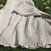 Для дома и интерьера handmade. Livemaster - original item Boiled flax towel