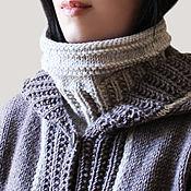Аксессуары handmade. Livemaster - original item Cowl-collar knit. Handmade.