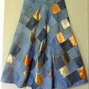 Одежда handmade. Livemaster - original item Patchwork skirt
