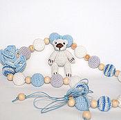 """Работы для детей, ручной работы. Ярмарка Мастеров - ручная работа Слингобусы """"Мишутка"""". Handmade."""