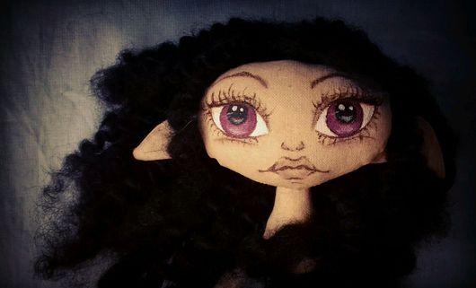 Коллекционные куклы ручной работы. Ярмарка Мастеров - ручная работа. Купить Кукла текстильная Эльфийка. Handmade. Кукла, кукла для девочки