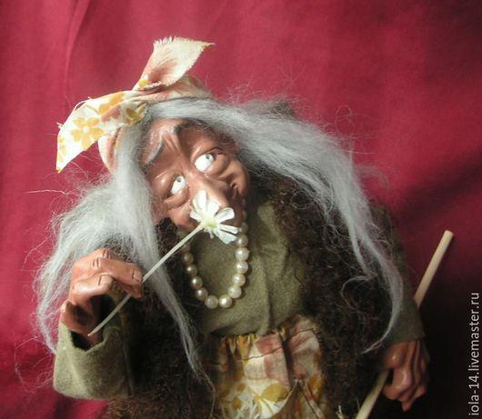 Сказочные персонажи ручной работы. Ярмарка Мастеров - ручная работа. Купить Девушка с ромашкой. Handmade. Комбинированный