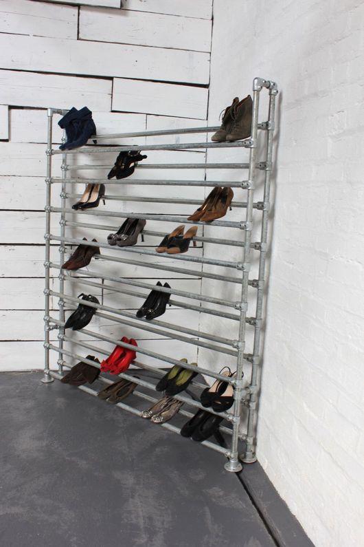 Мебель ручной работы. Ярмарка Мастеров - ручная работа. Купить Полка для обуви. Handmade. Полка, прихожая, ручная работа, лофт