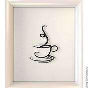 """Картины и панно ручной работы. Ярмарка Мастеров - ручная работа панно """"Espresso"""". Handmade."""