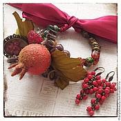 """Украшения ручной работы. Ярмарка Мастеров - ручная работа """"Осенний урожай"""" браслет. Handmade."""