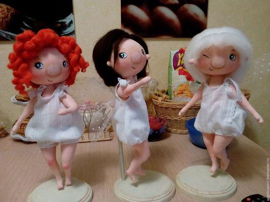 Куклы тыквоголовки ручной работы. Ярмарка Мастеров - ручная работа. Купить текстильные куклы. Handmade. Комбинированный, декоративный элемент