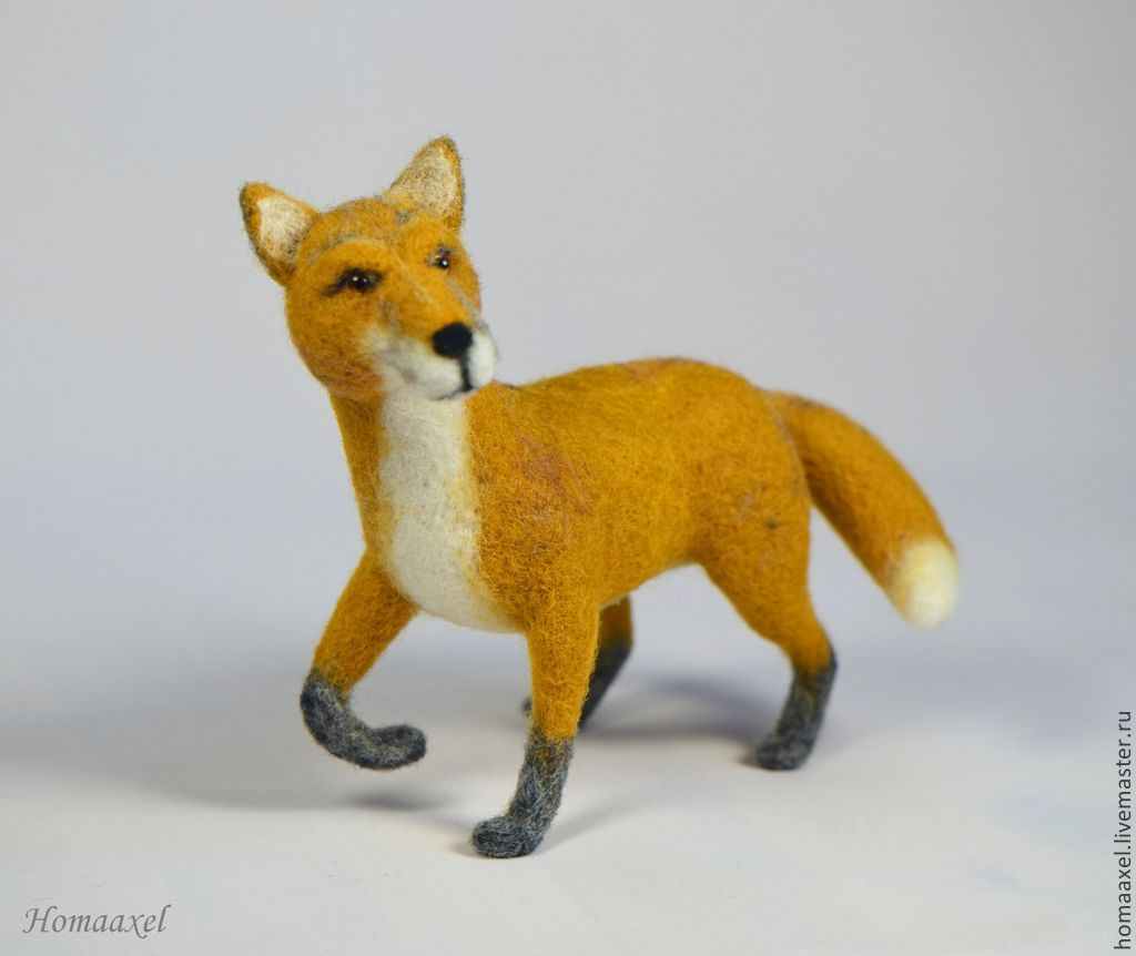 Felted Fox, Felted Toy, Heidelberg,  Фото №1