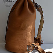 Сумки и аксессуары handmade. Livemaster - original item Handmade Leather Backpack - TIMUR. Handmade.