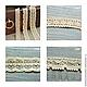 Шитье ручной работы. Кружево хлопковое, 3 вида. Lavka Home&Cotton. Интернет-магазин Ярмарка Мастеров. Кружево для отделки