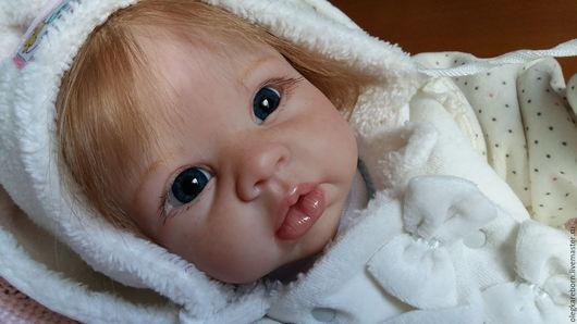 Куклы-младенцы и reborn ручной работы. Ярмарка Мастеров - ручная работа. Купить Куколка Варенька! (Krista by Linda Murray). Handmade.