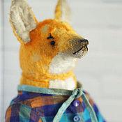 Куклы и игрушки ручной работы. Ярмарка Мастеров - ручная работа Братец лис. Handmade.