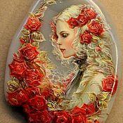 """Украшения ручной работы. Ярмарка Мастеров - ручная работа Кулон """" Розы"""". Handmade."""