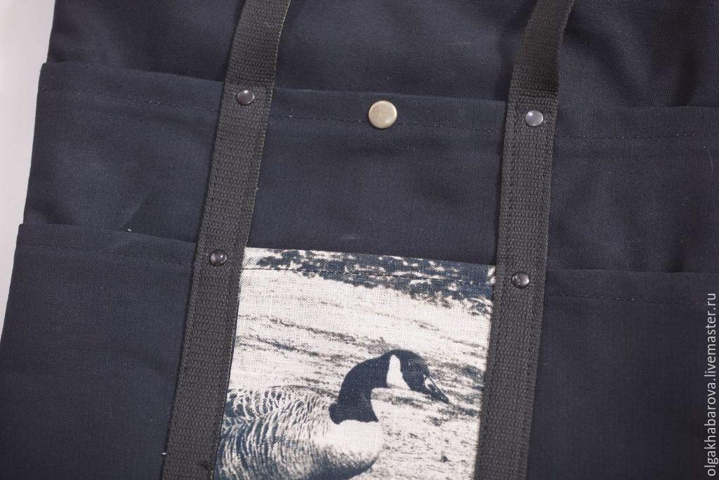 сумка-органайзер  с фото и множеством карманов