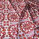 Шитье ручной работы. RED maiolica шелк креп-стрейч , Италия. Эксклюзивные итальянские ткани (pret-a-porte). Ярмарка Мастеров.